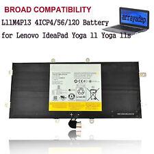 Battery L11M4P13 For Lenovo IdeaPad Yoga11 11S Ultrabook 4ICP4/56/120 11S-20246