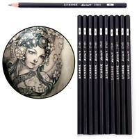 12pc Sketch Drawing Pencil Set Sketching Art Kit Royal Langnickel in Carry Case.