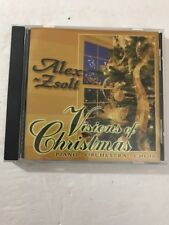 Alex Zsolt - Visions Of Christmas CD Tested Rare Vintage Collectible Ships N 24h