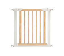 Safety Gate Wooden Home Pet Doorways Staircase Walk Thru Gate Barrier Door Fence
