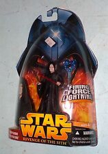 Star Wars: Revenge of the Sith Emperor Palpatine Firing Force Lightning MOSC