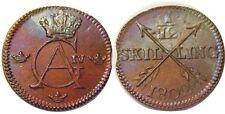 elf Sweden 1/12 Skilling 1802  Gustav IV Adolf