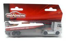 MAJORETTE 212053150-Cars /& Trailer-MAN TGX profondamente caricatrici con MOTORE YACHT-NUOVO