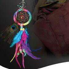 Handmade Dream Catcher with Feathers For Car Wall Hanging Home Decor Ornament