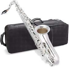 Jean Paul USA TS-400S Tenor Saxophone Key of Bb w/Carry Case, Swabs & Mouthpiece