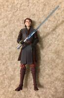 "Star Wars Clone Wars Anakin Skywalker Toy Action Figure 4"" Tall Hasbro 2011 CW1"