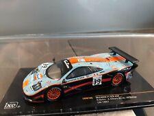 Ixo 1/43 Lot de 2 Mac Laren F1 GTR Gulf Le Mans 1997 #39 et #41