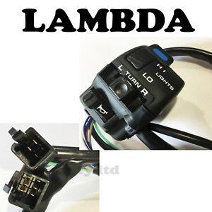 LH Switch Block  Horn Lights Indicators for Honda XR250 XR400 XR600 XR650 #CS11#