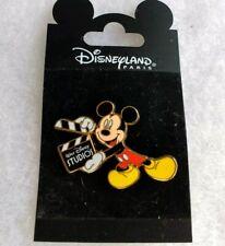 *New* Authentic Disneyland Paris Walt Disney Studios Pin Mickey Movie Clapper