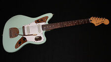 Fender Squier Vintage Modified Jaguar Green Electric Guitar w/ Gigbag