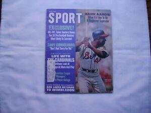 Sport Magazine July 1968 Hank Aaron Article