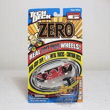 Zero Skateboard Tech Deck VTG 2000 X Concepts Generation 6 w/ Spitfire Wheels 1