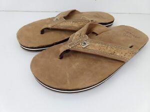 Mens Ocean Minded Bottler Eco-Friendly Vegan Flip Flops Sandals M6