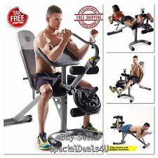 WORKOUT BENCH WEIGHT Home Gym Fitness Exercise Training Arm Chest Legs Incline