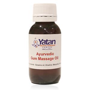 Ayurvedic Gum Massage Oil - Oral Care for Gum Health & Bad Breath Prevention