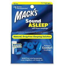 MACK'S® SoundAsleep Soft Foam Earplugs (12 Pairs)