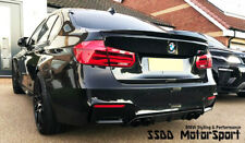 BMW F30 F80 M3 Performance Style Carbon Fibre Boot Lip Spoiler Next Day P&P