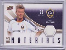 2010 Upper Deck MLS Materials #DB David Beckham Jersey - Flat S/H