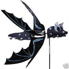 Halloween Flying  Bat Staked Wind Spinner..19..... PR 25139