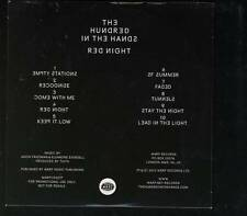 THE HUNDRED IN THE HANDS Red Night PROMO CD ALBUM WARP *