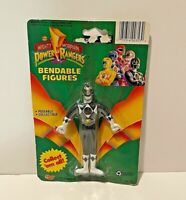 Mighty Morphin Power Rangers Bendable Figure (Black Ranger,Zack) Gordy Toys