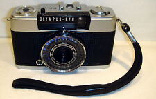 Olympus Pen EE-3 film camera with 28/3.5 lens