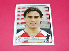 39 M. ROSALES AJAX AMSTERDAM UEFA PANINI FOOTBALL CHAMPIONS LEAGUE 2005 2006