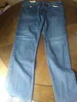 Hollister Men's Slim Straight Jeans Size 32x30 dark wash
