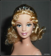 NUDE BARBIE NUTCRACKER SNOWFLAKE DOLL POINTED TOE BALLET BALLERINA BLONDE OOAK