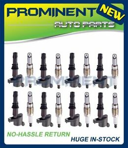 8x Coil DG511 Spark Plug SP515 Replacement For Ford Lincoln Mercury 4.6 5.4 6.8