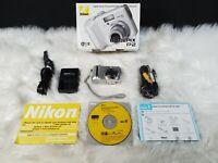 Nikon COOLPIX P2 5.1MP Digital Camera - Silver