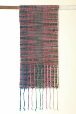 Handgewebter Schal Pastel Wolle Mohair