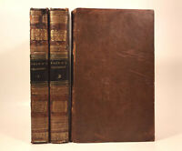 LEATHER Set;PHILOSOPHY Of The HUMAN MIND! Psychology FIRST EDITION 1824 Rare