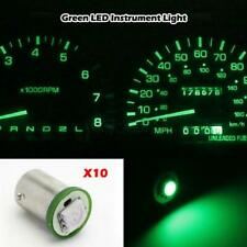 10xFor Chevy xenon Green SMD LED Instrument Panel BA9S 1815 1895 Light Bulb
