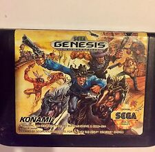 SUNSET RIDERS --- SEGA GENESIS