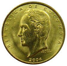 (B90) - Kolumbien Colombia - 20 Pesos 2004 - Simon Bolivar - UNC - KM# 294