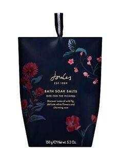 Joules BATH SOAK SALTS Ladies Christmas Gift Set / Stocking Filler 2021