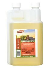 Permethrin-10 9291102 Concentrate Repellent Spray, 8 oz, Straw, Pungent