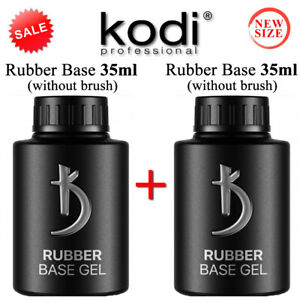 SET. BASE + BASE 35ml Kodi Professional - Gel LED/UV ORIGINAL Rubber Gummi Basis