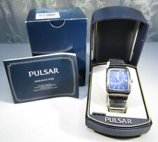 Vintage Pulsar Watch Ladies Bracelet Water resistant Japan Movement