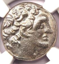 Ancient Ptolemaic Kingdom Ptolemy XII AR Tetradrachm Year 19, 80-51 BC - NGC AU