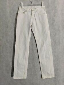 Helmut Lang Archive Vintage Broke. Denim Jeans Low Waist Contour 30 Italy