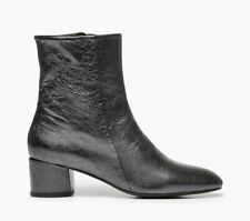 COCLICO SHOES ELI BOOT MOD STYLE BOOTIES METALLIC CRACKLED LEATHER 39 $430