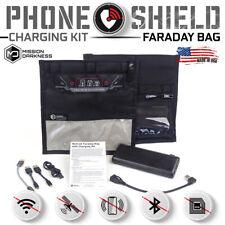 Mission Darkness NeoLok Faraday Phone Bag w/ Charging Kit + 20,000mAh Battery