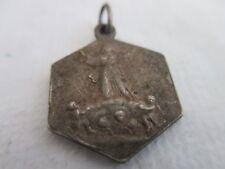 T3 ancienne médaille religieuse 17 mm SAINTE BERNADETTE SOUBIROUS PPN