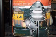 New listing Malibu Starlight 8-Pack Low Voltage Metal Landscape Lighting Kit #8301-9907-08