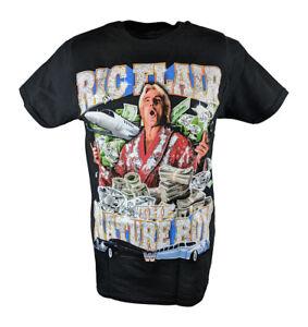 Ric Flair The Nature Boy WWE Mens Black T-shirt