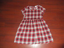 SWELL PLAID BABY DOLL GOTH GRUNGE DRESS SZ SMALL
