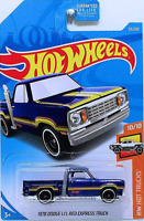 NEW 2019 Hot Wheels 55/250 1978 Dodge Lil Red Express Truck #10/10 HW Hot Trucks