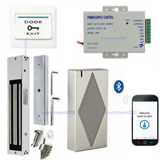 Bluetooth Access Control use phone to open door System Kits with 280kg Mag Lock